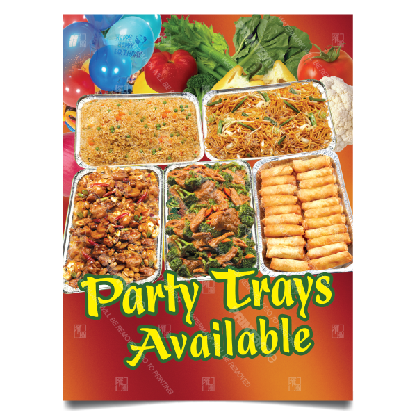 mc005 party trays poster